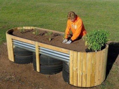 31 Easy Diy Raised Garden Beds For Backyard Homeridian Com Raised Garden Beds Diy Building A Raised Garden Raised Garden Beds