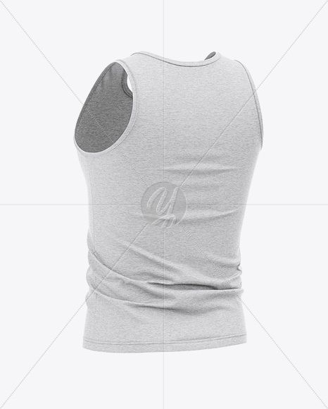 Download Men S Heather Jersey Tank Top Mockup Back Half Side View In Apparel Mockups On Yellow Images Object Mockups Jersey Tank Tops Clothing Mockup Mockup Free Psd