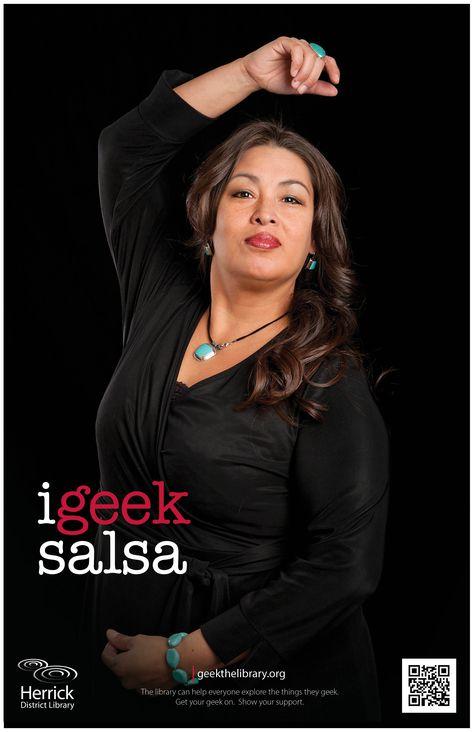 """""""i geek salsa"""""""
