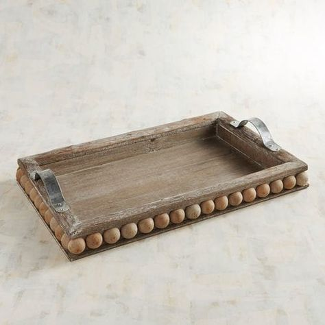 Our Handcrafted Tanoak Tray Makes A Rustic Yet Sophisticated