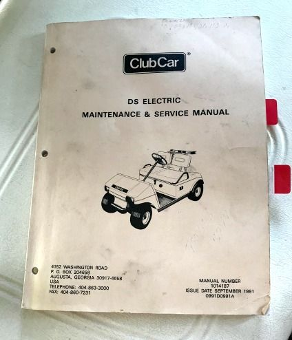 Club Car Service Manual Every Golf Cart Owner Should Have One Club Car Golf Cart Accessories Golf Cart Parts Electric Golf Cart