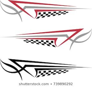 Boat Car Truck Trailer Motorcycle Graphics Decals Pin Stripe Stickers Wrap