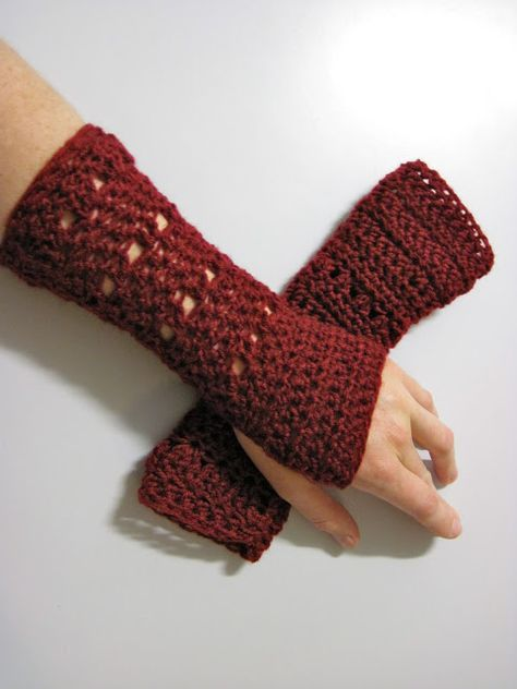 Arm Warmers Free Crochet Patterns Pinterest Arm Warmers