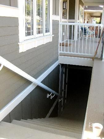Stairs Separate Entrance To The Basement Remodelbasement In 2020