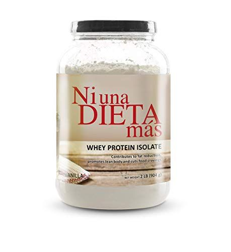 Ni Una Dieta Mas Whey Protein Isolate Delicious Vanilla No Sugar No Lactose Easy To Mix Ni Una Dieta Más Workout Food Whey Protein Health And Nutrition