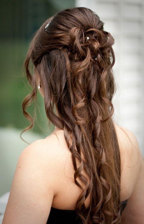 Halb Hochsteckfrisuren Lange Haare Frisur Hochgesteckt Abiball Frisuren Frisuren Lange Haare Halboffen