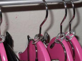 Soda tab for double hangers