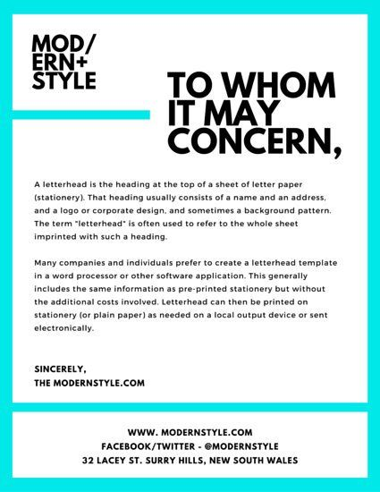Cover Letter Template Canva Canva Cover Coverlettertemplate Letter Template Letterhead Template Letterhead Design Cover Letter Template