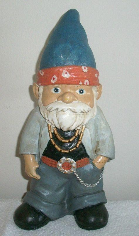 """Amazon.com : Dude Gnome 11"""" Tall Garden Statue : Patio, Lawn & Garden"""