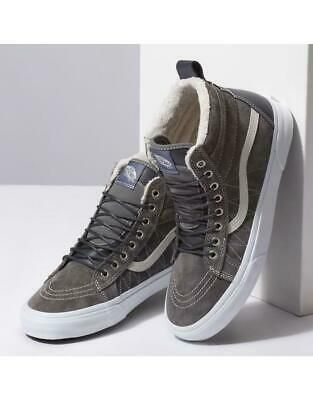 Advertisement(eBay) Vans SK8 HI Mte Pewter US Men Size 10