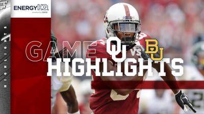Highlights: OU 66, Baylor 33 | University of Oklahoma