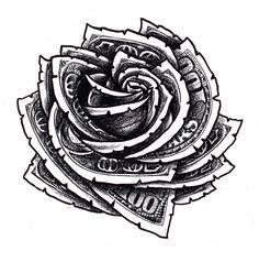 money rose tattoo - Google Search                              …