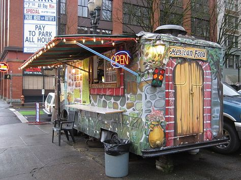 Best way to eat your Mexican food...from a Taco truck!