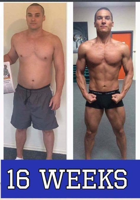 dieting before and after photos men