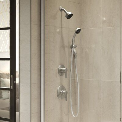 Symmons Identity Shower Faucet Trim Kit With Metal Lever Handle Tub And Shower Faucets Shower Faucet Shower Tub