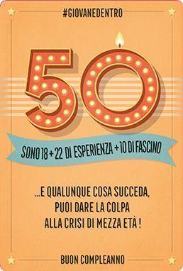 Biglietti D Auguri Per Sempre Biglietti D Auguri Giovani 50 Anni
