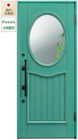 ボード ヨーロピアン風の玄関ドア のピン