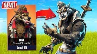 Fortnite New Werewolf Skin Evolution Fortnite Season 6