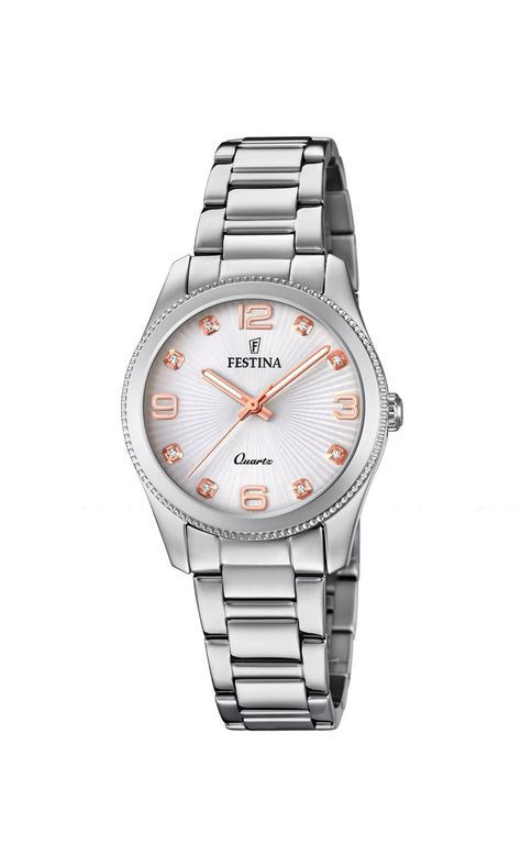Festina Boyfriend Silver 31 mm Women's Watches F20208/1 – COCOMI Australia
