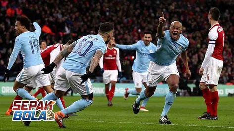 Cuplikan Hasil Pertandingan Arsenal   Manchester City Cuplikan