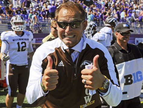PJ Fleck. Image via pantograph.com.     PJ Fleck has made quite a reputation for…