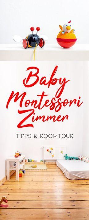 Montessori Baby Kinderzimmer ab 10 Monaten   The Krauts
