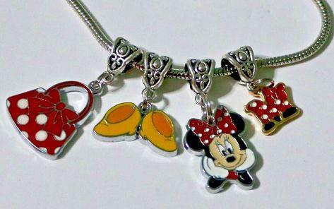New England Patriots Football European Rhinestone Charm Bracelet Necklace Bead