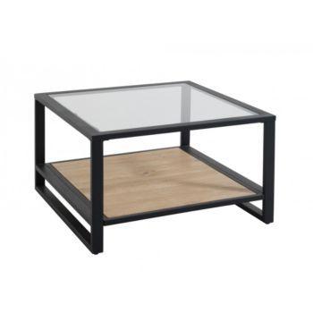 Table Basse Verre/Noir/Miel | Amenagement Intérieur | Pinterest