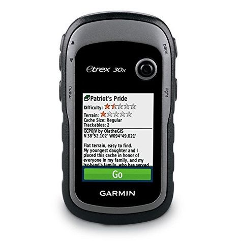 Garmin Etrex 30x Handheld Gps Navigator With 3 Axis Compass Enhanced Memory And Resolution 2 2 Inch Color Display Wat Garmin Etrex Electronic Compass Ebay