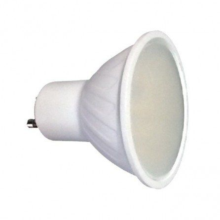 Lighted Bombilla Gu10 Led Smd 6w 120º Ceramica Bombillas Led