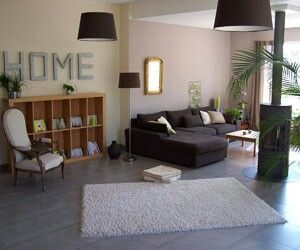 Sol gris salon | Salones | Pinterest | Salons, Taupe and Living rooms