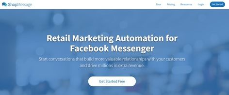ShopMessage app for Shopify ... Why Facebook Messenger? Tired of having your emails end up in spam?Crossing your fingers that you get inboxed?