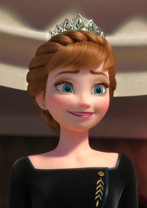 """Her Majesty Anna, 💎 Queen 💎 of Arendelle"". 16K + 8K Wallpaper. HD link in comment. - Frozen"