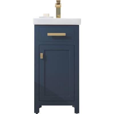 Knighten Modern 24 Single Bathroom Vanity Set In 2020 Single Bathroom Vanity Vanity Set Bathroom Vanity