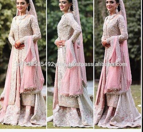 """""""Shanzae in a bridal Pakistani couture"""