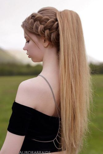 Fun And Fancy Hairstyles For Thick Hair For Lovely Women With Images Thick Hair Styles Hair Styles Long Hair Models