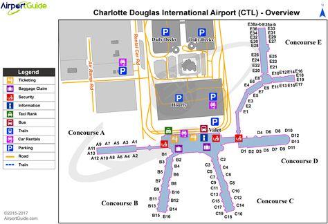 Miami Miami International MIA Airport Terminal Map Overview