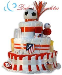 Tarta De Panales Futbol Atletico De Madrid Atleti Atleti