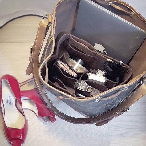 49d5732d2b2a MY LUXURY PURSE BAg Organizer   Bag Insert