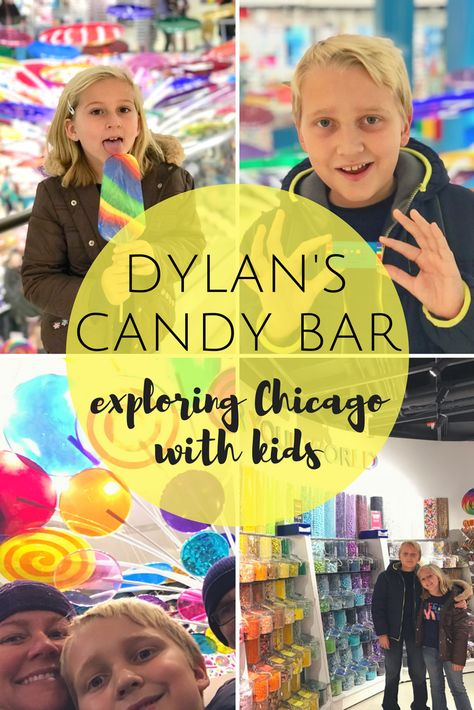 Dylan's Candy Bar: Exploring Chicago with Kids – The Beckham Project