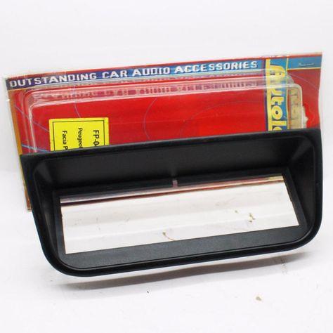 Mercedes E-Class W211 2002 Black Double DIN Facia Plate Autoleads Radio Stereo