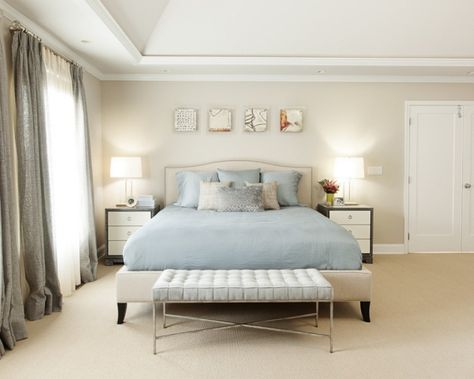 chambre parents home Pinterest Bedrooms, Wall paint colours