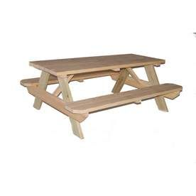 24 50 Lowes Outdoor Wooden Picnic Table 24 50 Ymmv Wooden Picnic