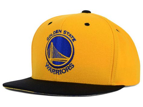 ... Golden State Warriors Blue Water Mitchell Ness Snap Back Hat Golden  State Warriors Hats Pinterest Golden ... 77863f400714