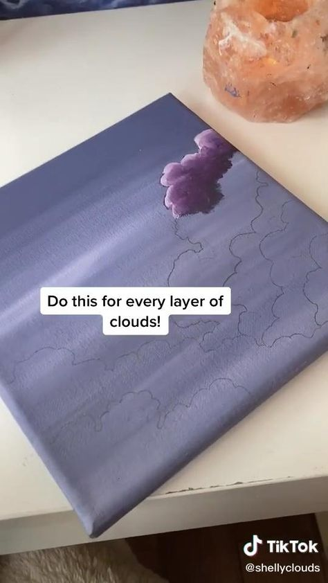 how to draw clouds 🥺💞