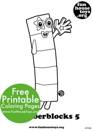 Fun Numberblocks Coloring Pages Coloring Pages Coloring For Kids Free Printable Coloring Pages