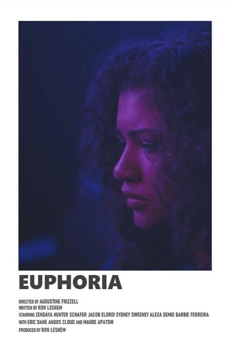 Euphoria minimal A6 poster | Etsy