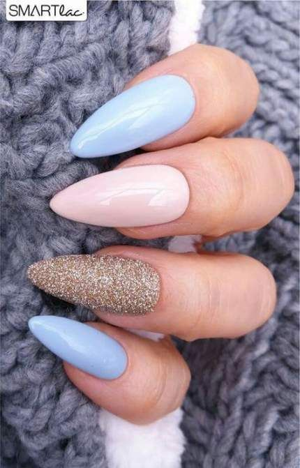 58 Ideas Nails Shape Almond Spring For 2019 Almond Ideas