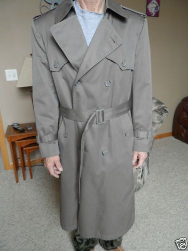 a382797ed Vintage-80s-London-Towne-Coat-Mens-Trench-Rain-Coat-38-Reg ...