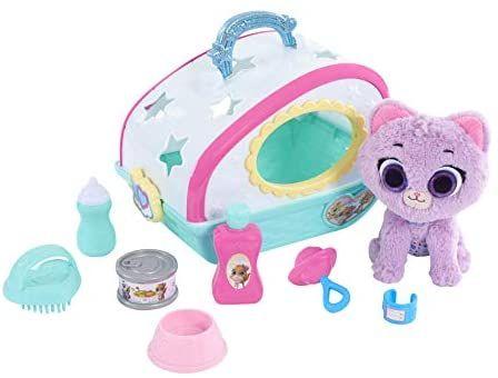 Disney Jr T O T S Care For Me Pet Carrier Kitty Toys Games Bonecas Casa De Bonecas